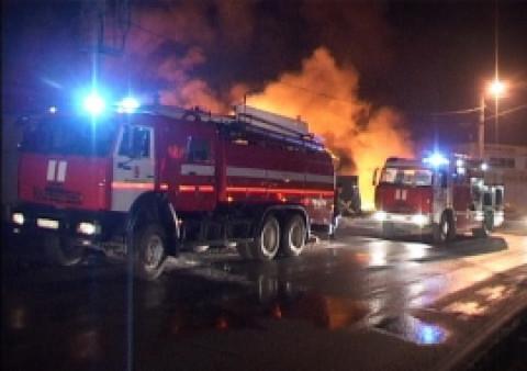 В новогоднюю ночь во Владивостоке сгорела машина