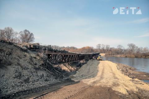 Второй мост через Кневичанку в Приморье почти обвалился