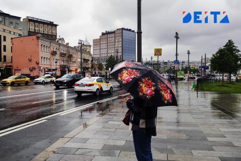 Сильный ветер и небольшой дождь освежат приморцев в воскресенье
