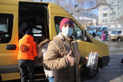 Около 30 тысяч газовых баллонов и 7,5 тысяч газовых плит получили жители Владивостока во время ЧС