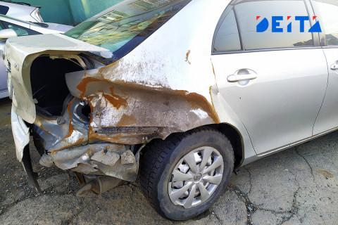 Пьяный водитель с ребёнком на руках устроил ДТП во Владивостоке