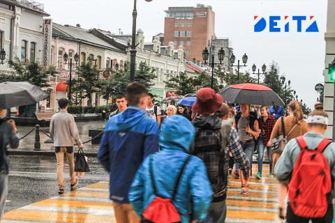 В Приморье пройдут дожди в воскресенье