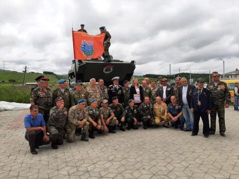 Памятник воинам-интернационалистам открыли в Приморье