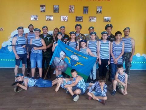 Юные приморцы отмечают День ВДВ военными конкурсами и викторинами