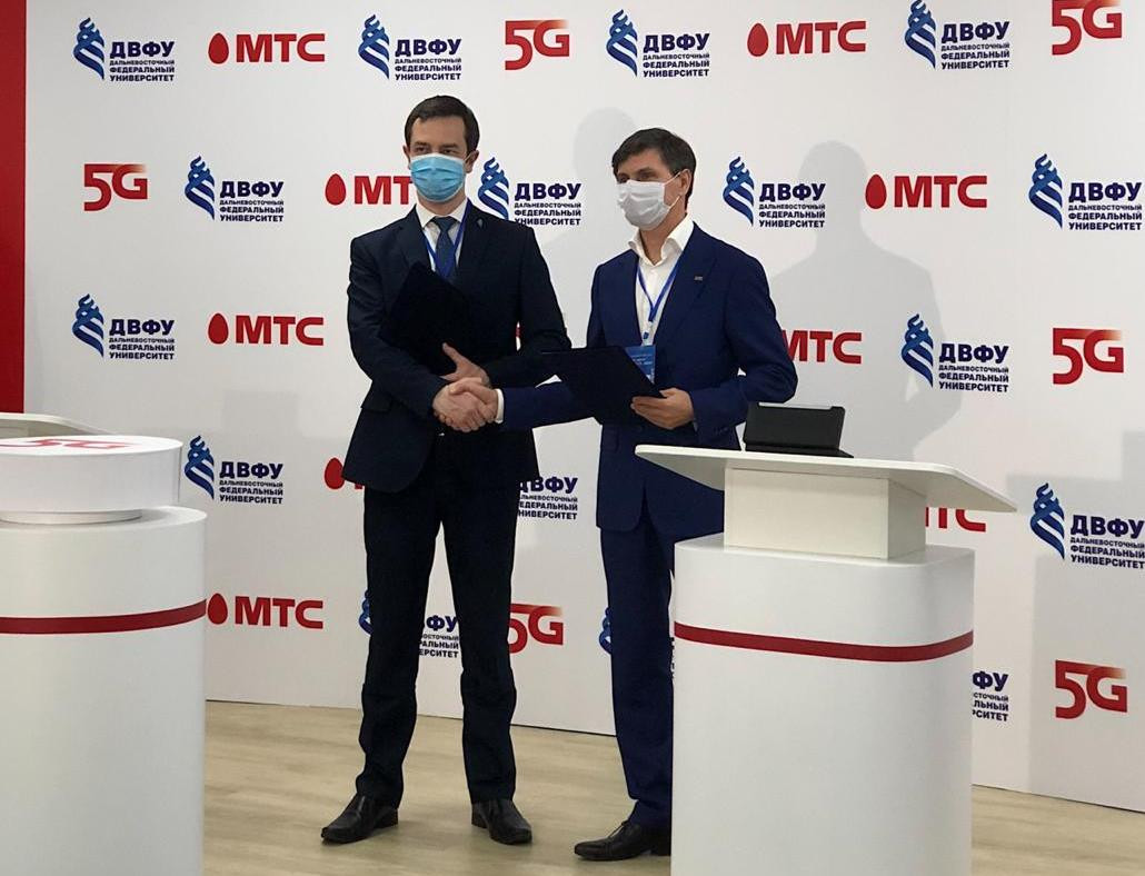 МТС предоставила сеть 5G для развития робототехники и VR-технологий в ДВФУ