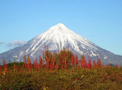 Пропавшего альпиниста ищут на Ключевском вулкане