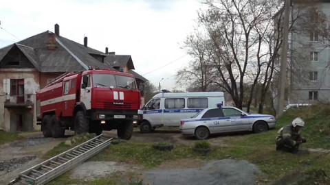 18 человек спасли на пожаре приморские полицейские