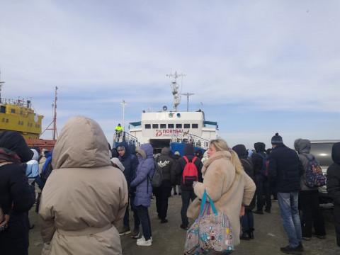 Стало известно расписание катеров ТОФ на Русский остров