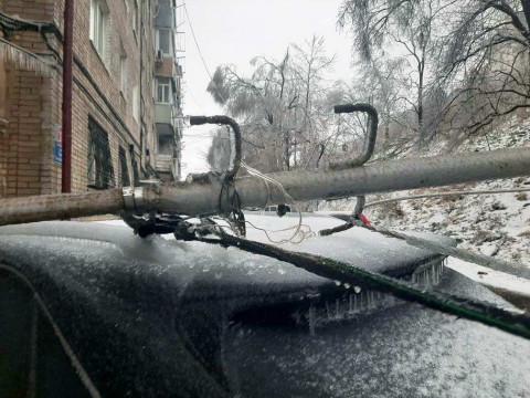Ущерб от ледяного циклона Приморскому краю увеличился почти в 2,5 раза