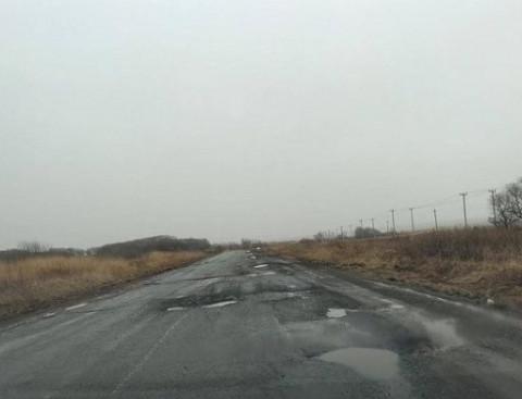 Плохие дороги достали приморцев
