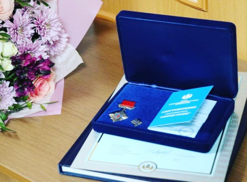 Девочку из Уссурийска наградили почётным знаком «Горячее сердце»