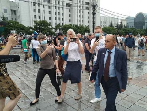 «Наливкин + Фургал = справедливость»: у Дегтярёва появился ещё один конкурент