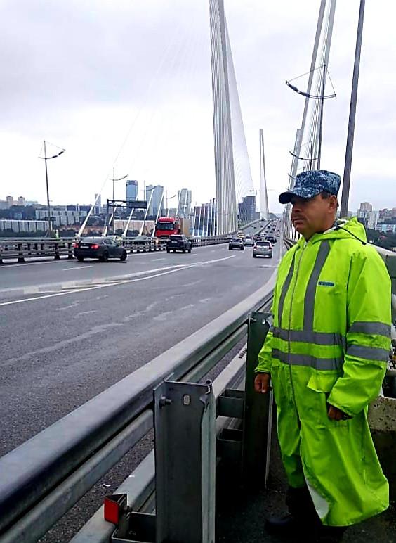Охрана мостов усилена из-за прохождения тайфуна в Приморье