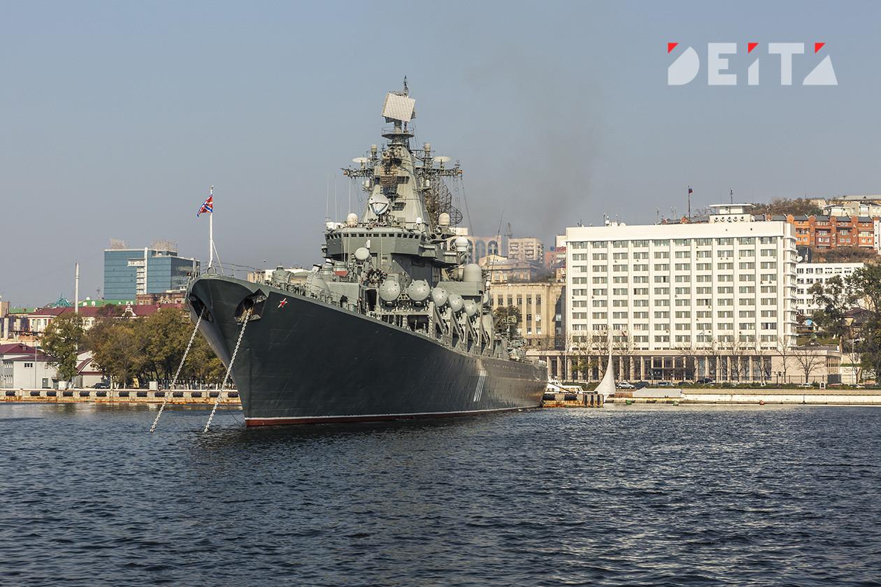 Военные не зря готовили флот к тайфуну в Приморье