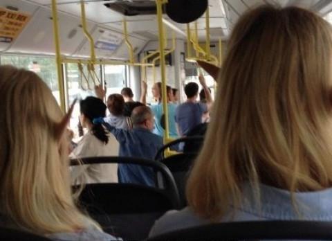 Приморцев без масок штрафуют в автобусах