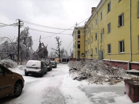 """""""Оборонэнерго"""" заявило о полном восстановлении высоковольтных линий на Русском острове"""