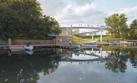 Проект парка Минного городка представили общественности