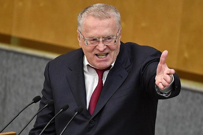 Жириновский показал, как завоют Байден, Путин и Си в случае войны