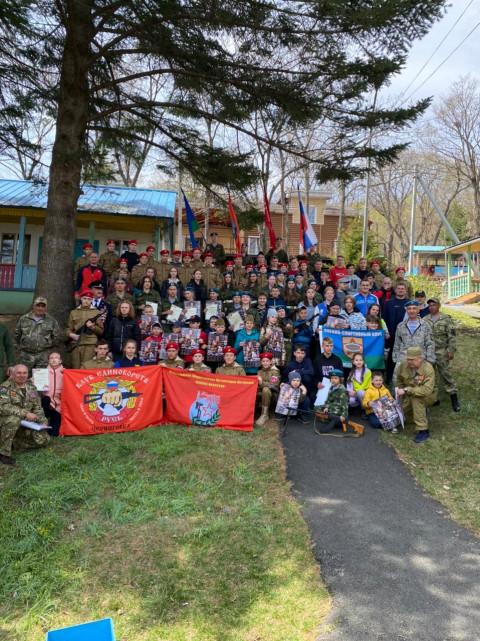 Более ста ребят посетили военный фестиваль под Владивостоком