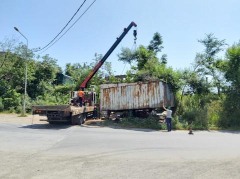 Владивосток очищают от незаконных объектов