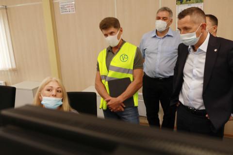 Губернатор Приморского края Олег Кожемяко встретился с коллективом АО «Восточный Порт»