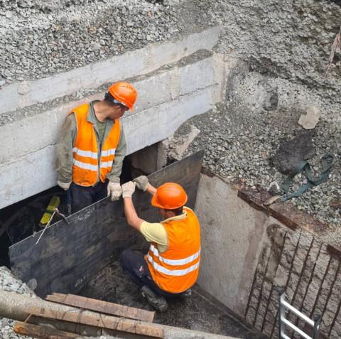 Замена теплотрассы в центре Владивостока выполнена на 80%