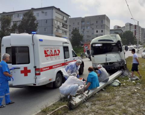 Автобус без водителя отправил в больницу пятерых пассажиров в Приморье