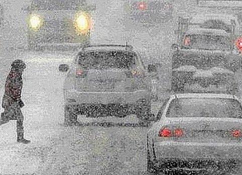 Сильный снегопад ожидает Приморье