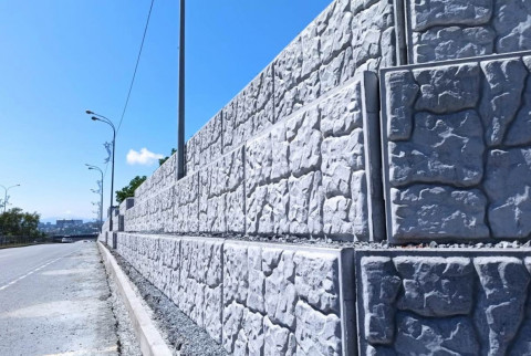 Новая подпорная стена появится во Владивостоке до конца сентября