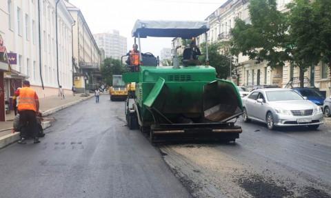 Во Владивостоке полным ходом идёт ремонт дорог по нацпроекту «БКД»