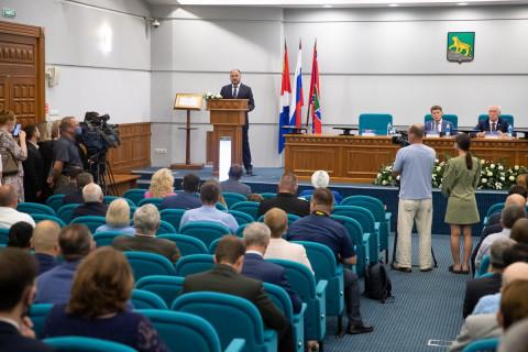 Дума Владивостока приняла присягу мэра города