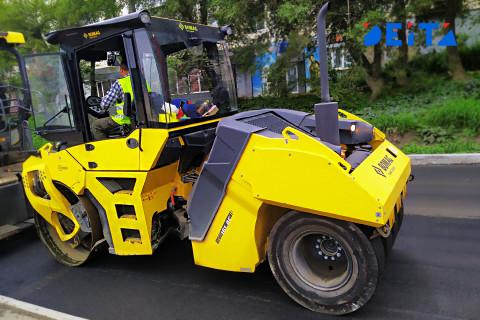 Дороги Владивостока ремонтируют по обращениям его жителей