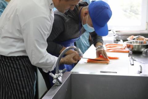 Будущим поварам приморских ресторанов провели мастер-класс