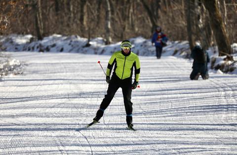 «Это дно»: на лыжной трассе, открытой губернатором, рассказали о краже