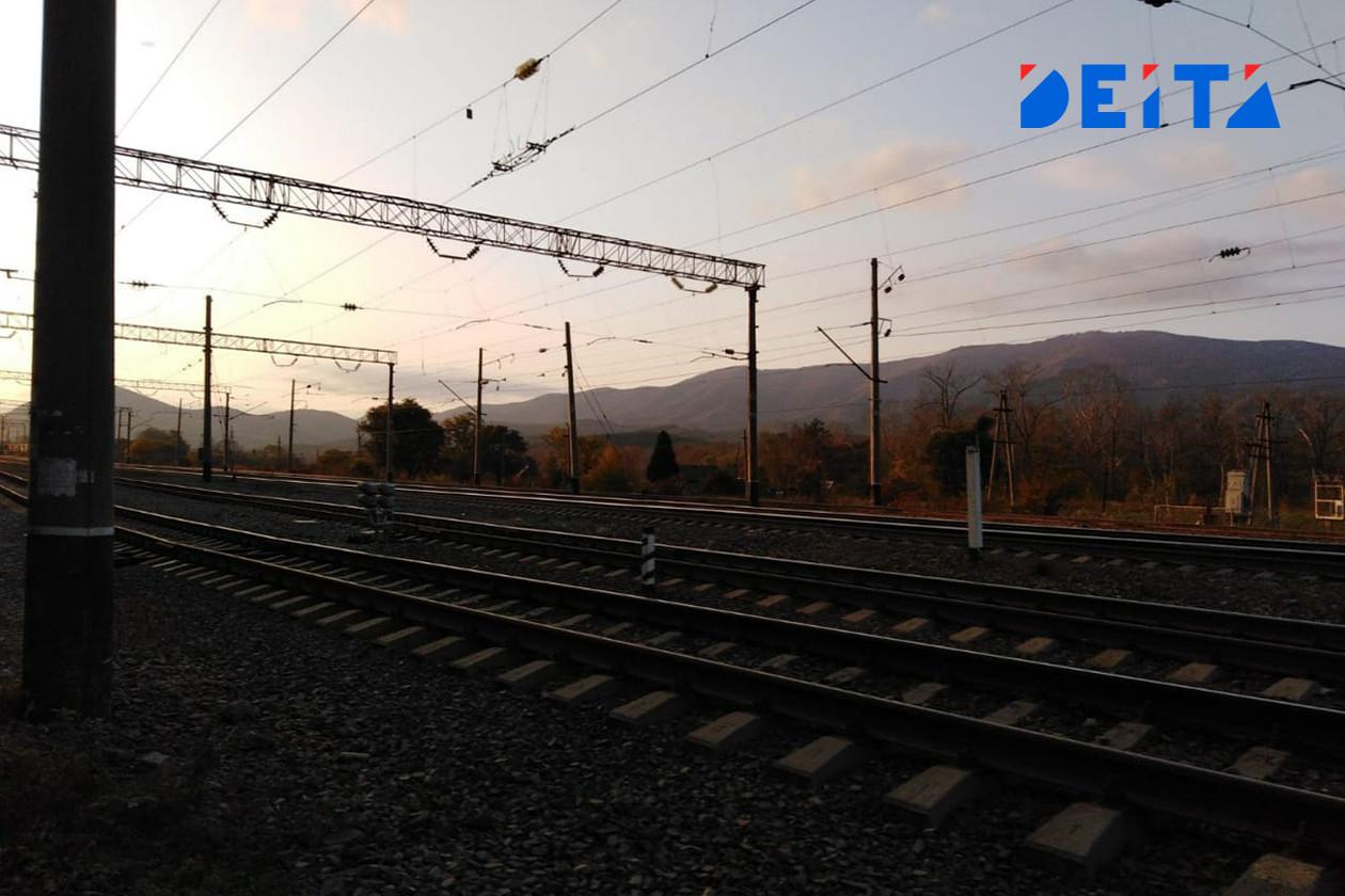 Крушение поезда остановило движение в Хабаровском крае