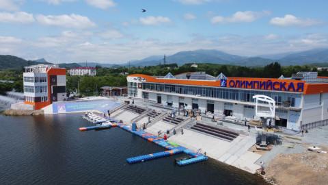 Российские олимпийцы разместятся на гребной базе в Приморье