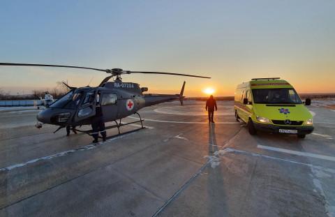 За полгода санавиация эвакуировала 145 жителей Приморья