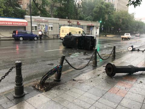 Юный лихач начудил во Владивостоке