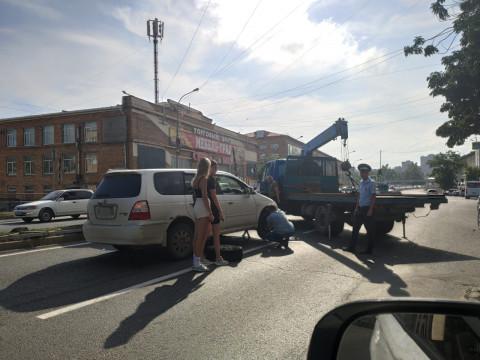 ДТП с уроном городскому имуществу произошло во Владивостоке