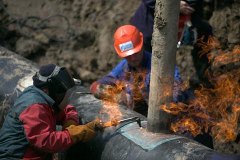 Огневые работы: «Газпром трансгаз Томск» завершил ремонт газопровода «Сахалин-Хабаровск-Владивосток»