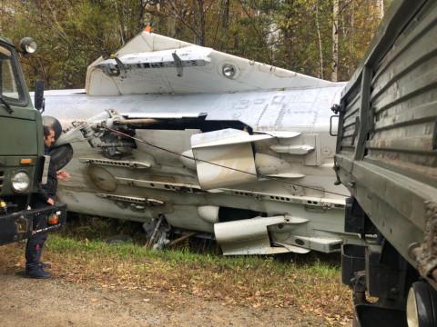 ДТП с самолетом произошло в Приморье