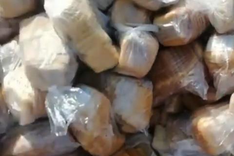 Горы свежего хлеба на свалке нашли в Приморье