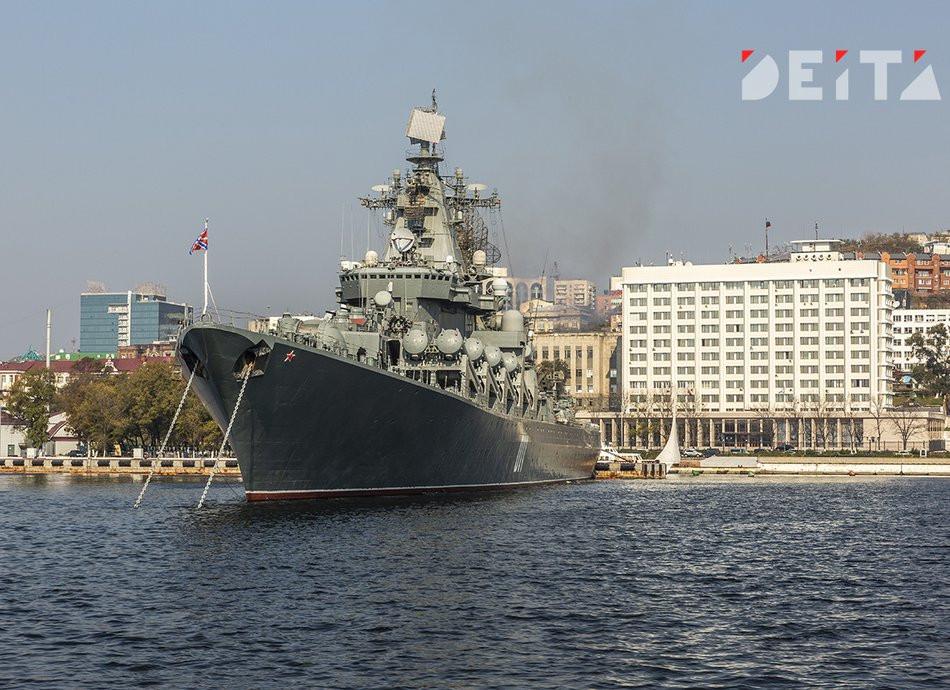 Участки для голосования по Конституции в Приморье организуют на военных кораблях