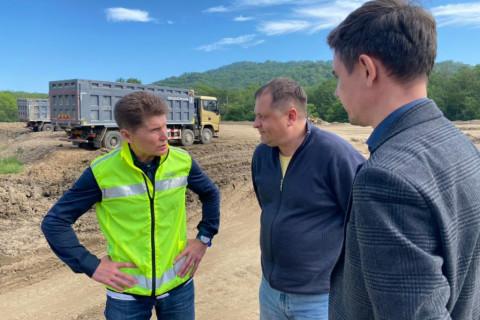 Губернатор проинспектировал ремонт Находкинского перевала