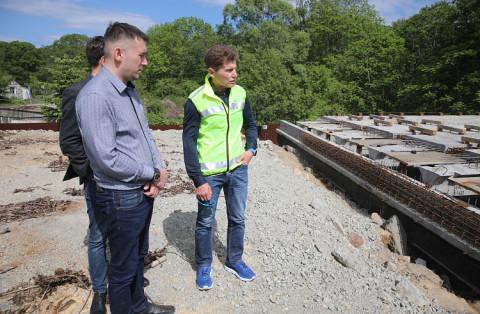 Губернатор Приморья раскритиковал поведение мостостроителей