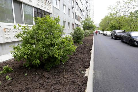 Ремонт по программе «1000 дворов» полным ходом идёт во Владивостоке