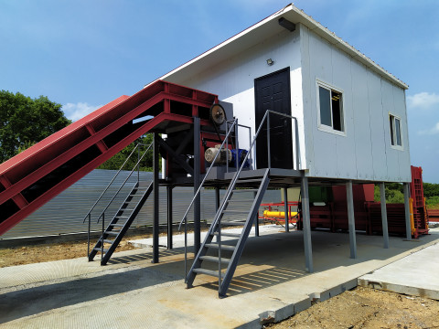 Новый мусоросортировочный комплекс открыли в Приморье