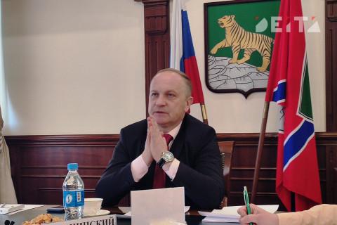 Гуменюк до сих пор считает себя главой Владивостока