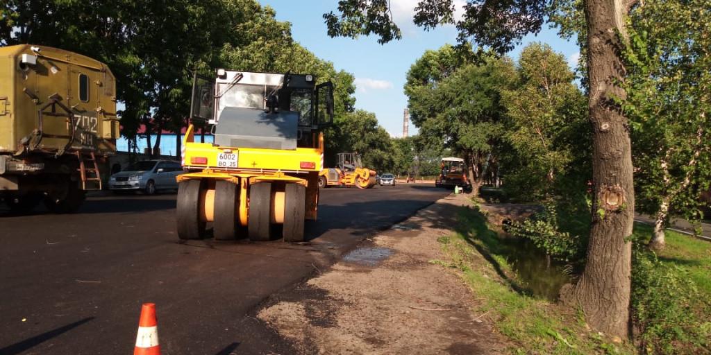 Ремонт дорог завершается в Уссурийске