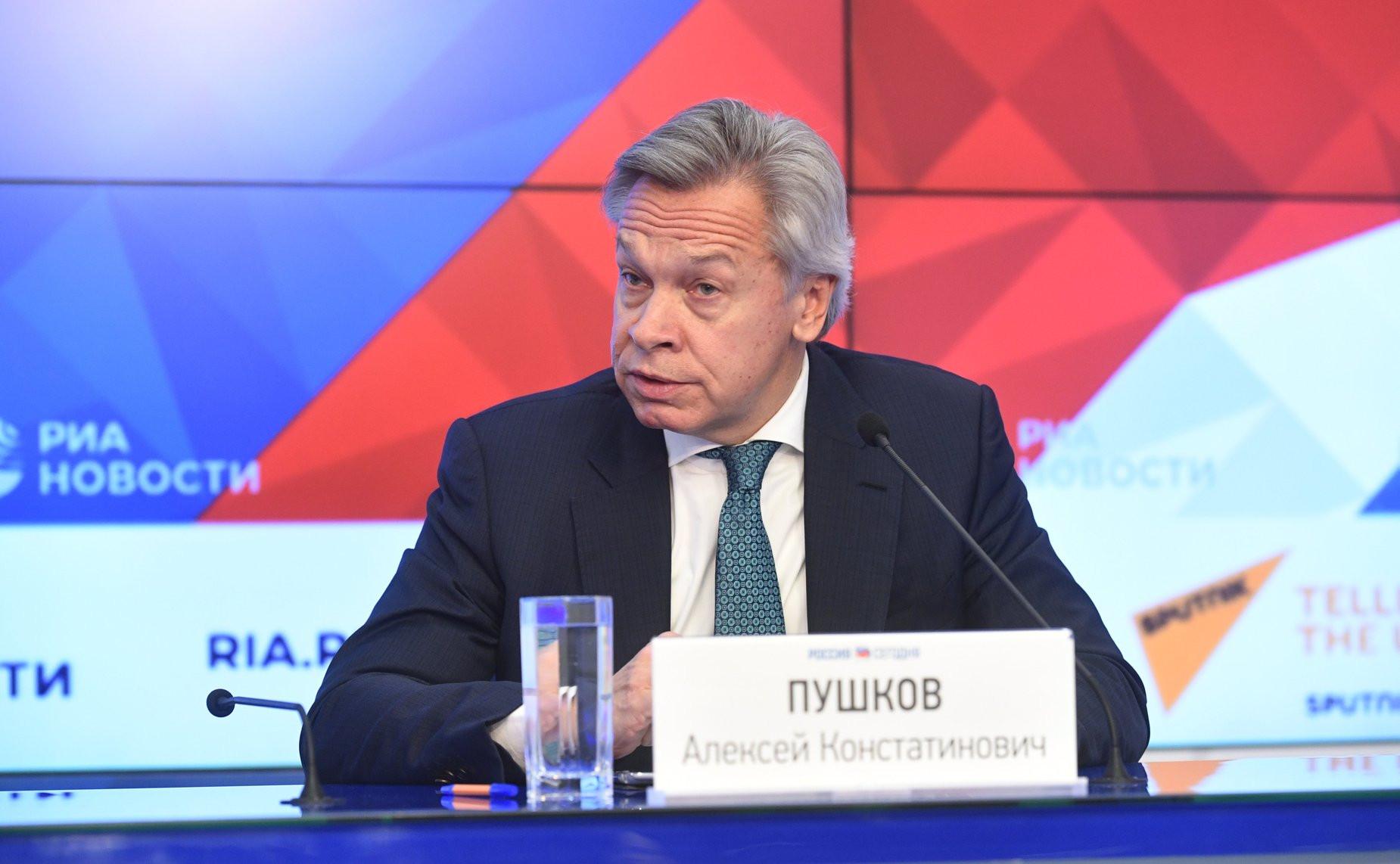 Пушков отреагировал на слова о «вкладе» украинцев в цивилизацию РФ